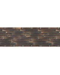Bamboo Delight Single Metal Cornice by