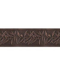 Olive Branches Single Metal Cornice by