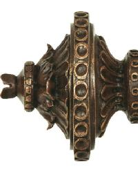 Marcus Curtain Rod Finial 1 3/8 inch by
