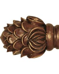 Royal Crest Curtain Rod Finial 2 inch by