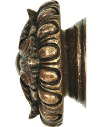 Stella Curtain Rod Finial 3 inch by