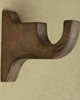 Robert Allen Hardware Standard Bracket Shown in Antique Walnut Finish