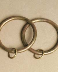 Curtain Ring set of 10 for 1.5in Diameter Rod by