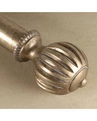 Rook Curtain Rod Finial by