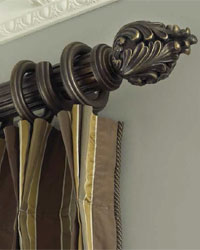 Traditions Wood Curtain Rods