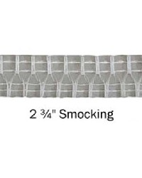 2 3/4 in Smocking Drapery Header Tape by