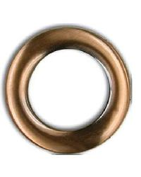 Brushed Antique Copper Snap Together Grommets 1 3/8 Diameter by