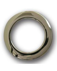 Chrome Snap Together Grommets 1 3/8 Diameter by