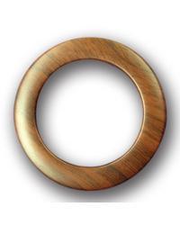 Dark Wood Snap Together Grommets 1 3/8 Diameter by