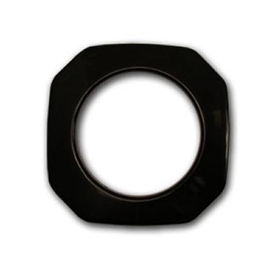 grommets,grommets,curtain grommets,grommets for curtains,curtain grommet,plastic grommets,square grommets,drapery grommets,snap together grommets,rowley,rowley company Black Square Snap Together Grommets Black Square Snap Together Grommets 1 7/8 D