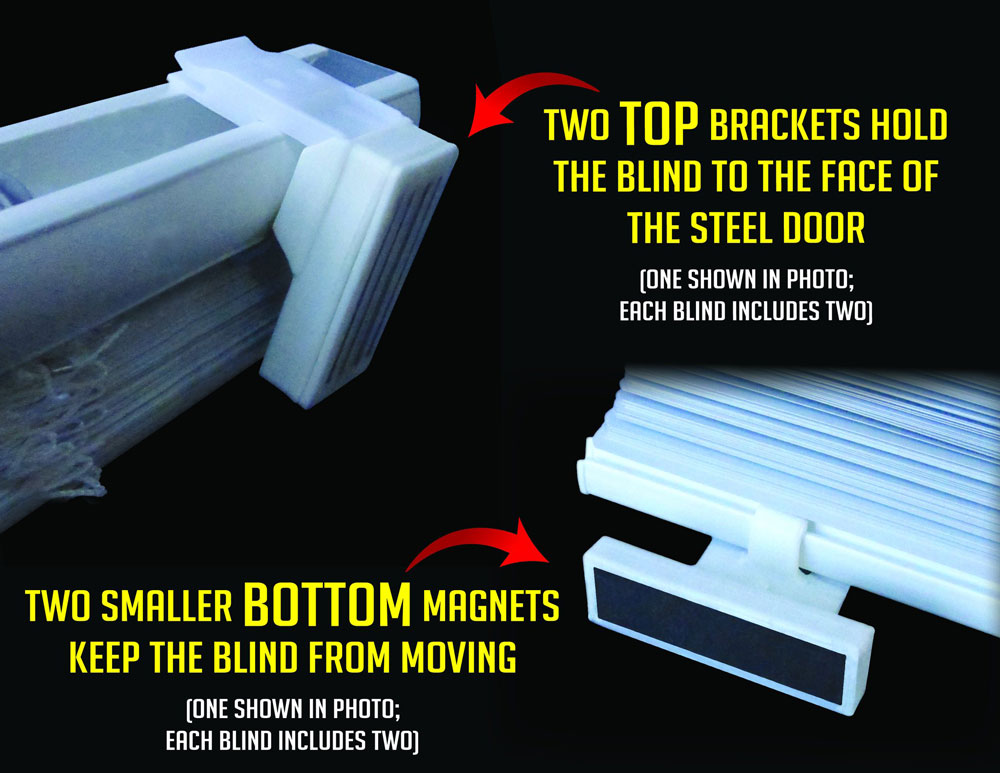 Magnetic Blinds Magnetic Mini Blinds Blinds