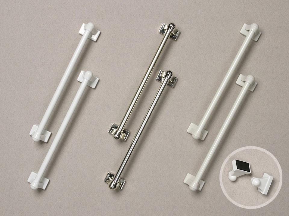 Magnetic Sash Rod Curtain Rods