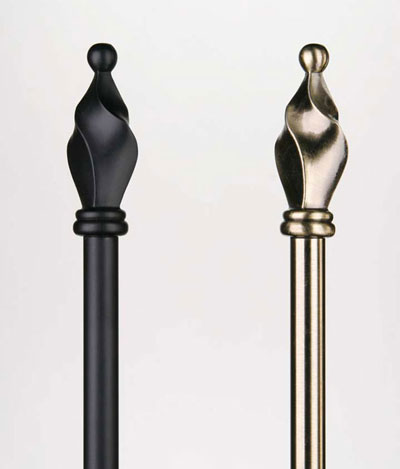 Wrought Iron Curtain Rods | Wrought Iron Works
