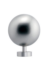 Finial BELL Satin Aluminum by