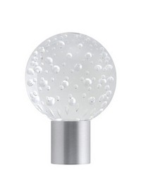 Finial PIRRO Satin Aluminum by