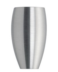 Finial ICKX Satin Aluminum by
