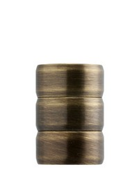 Finial ROLLER Antique Brass by