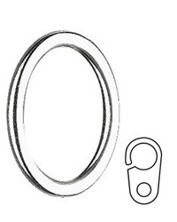 Curtain Ring with Clip by