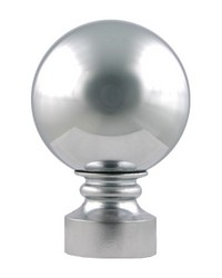Harvest Finial Polished Chrome by