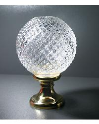 Crystal Finial by