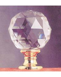 Solid Crystal Finial by