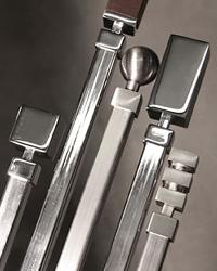 Plaza Metal Curtain Rods