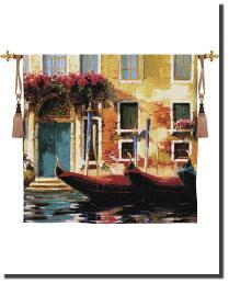 Venetian Gondolas I by
