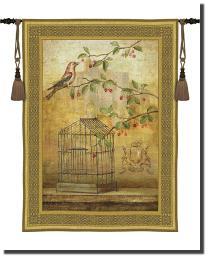 Oiseav Cage Cerise I by