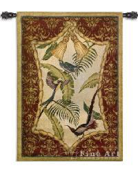 Aviary I Wall Tapestry by