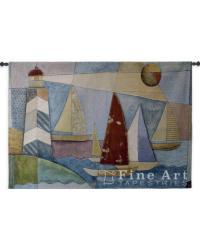 Bay Regatta Wall Tapestry by