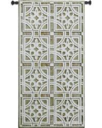 Fretwork Wall Tapestry by