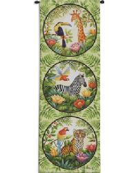 Jungle Wall Tapestry by