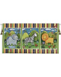On Safari Wall Tapestry by