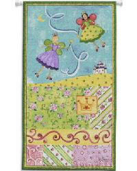 Patchwork Fairy I Wall Tapestry by