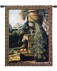 Un Paradise In Terra Wall Tapestry by