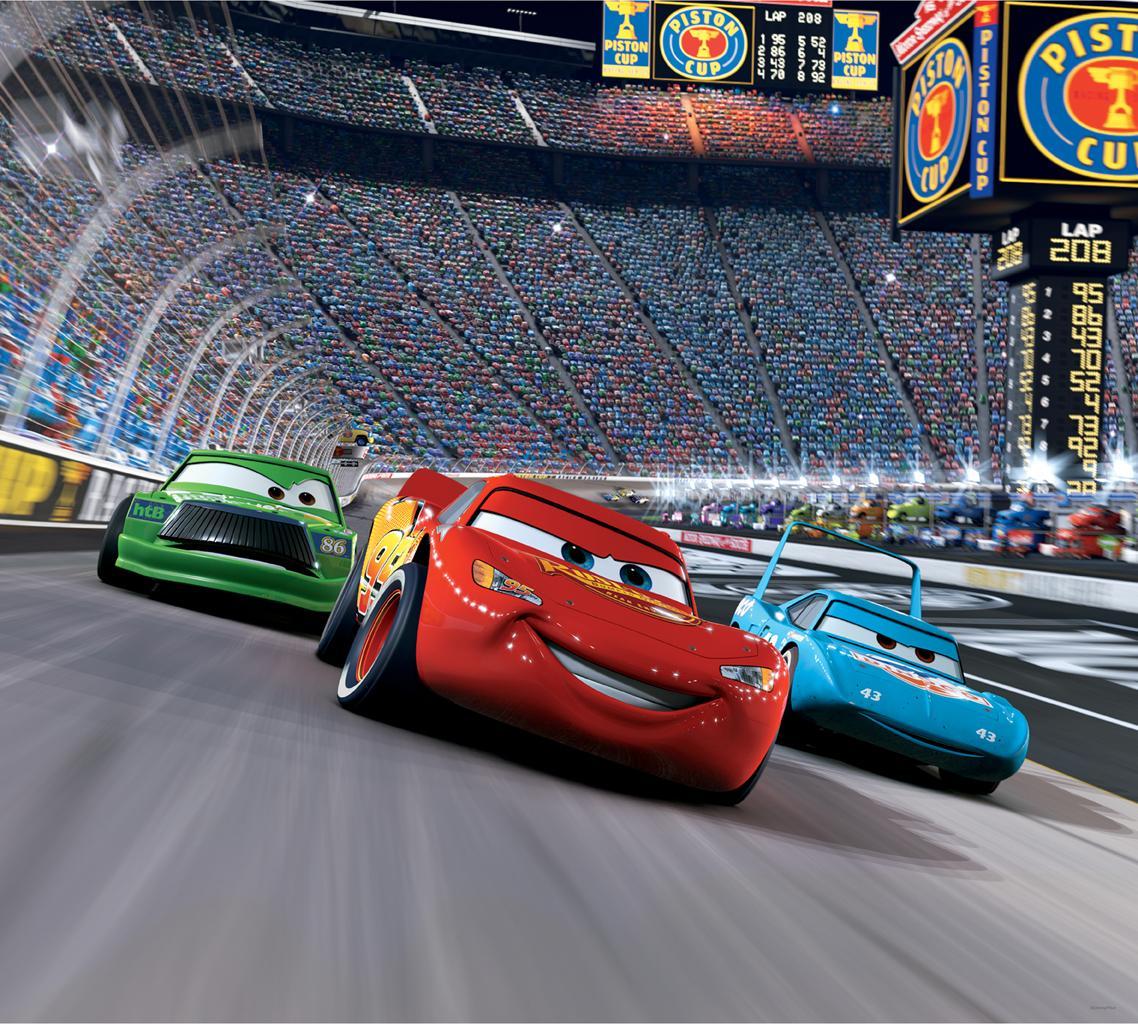 Blue Mountain Wallpaper Cars Race Track Mini Mural