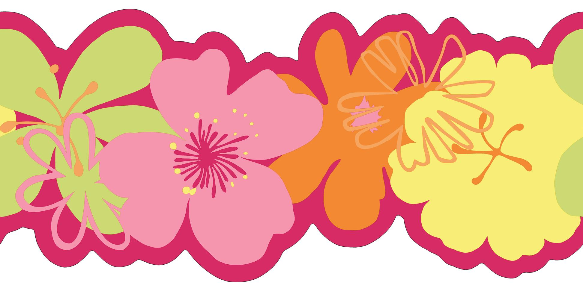 Poppy Wallpaper Home Interior : Poppy Flower Wallpaper Border