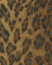 Leopard Dark Brown Animal Print by