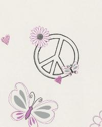 Love Child Pink Peace And Love by