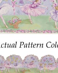 Pavlova Purple Ballerina Border by