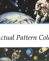 Buzz Aldrin Black Space Border by