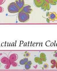 Butterfly Garden Border Pink Butterfly Border by