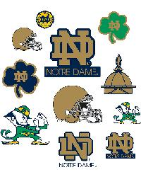 Notre Dame Fighting Irish Logo Fathead Jr by
