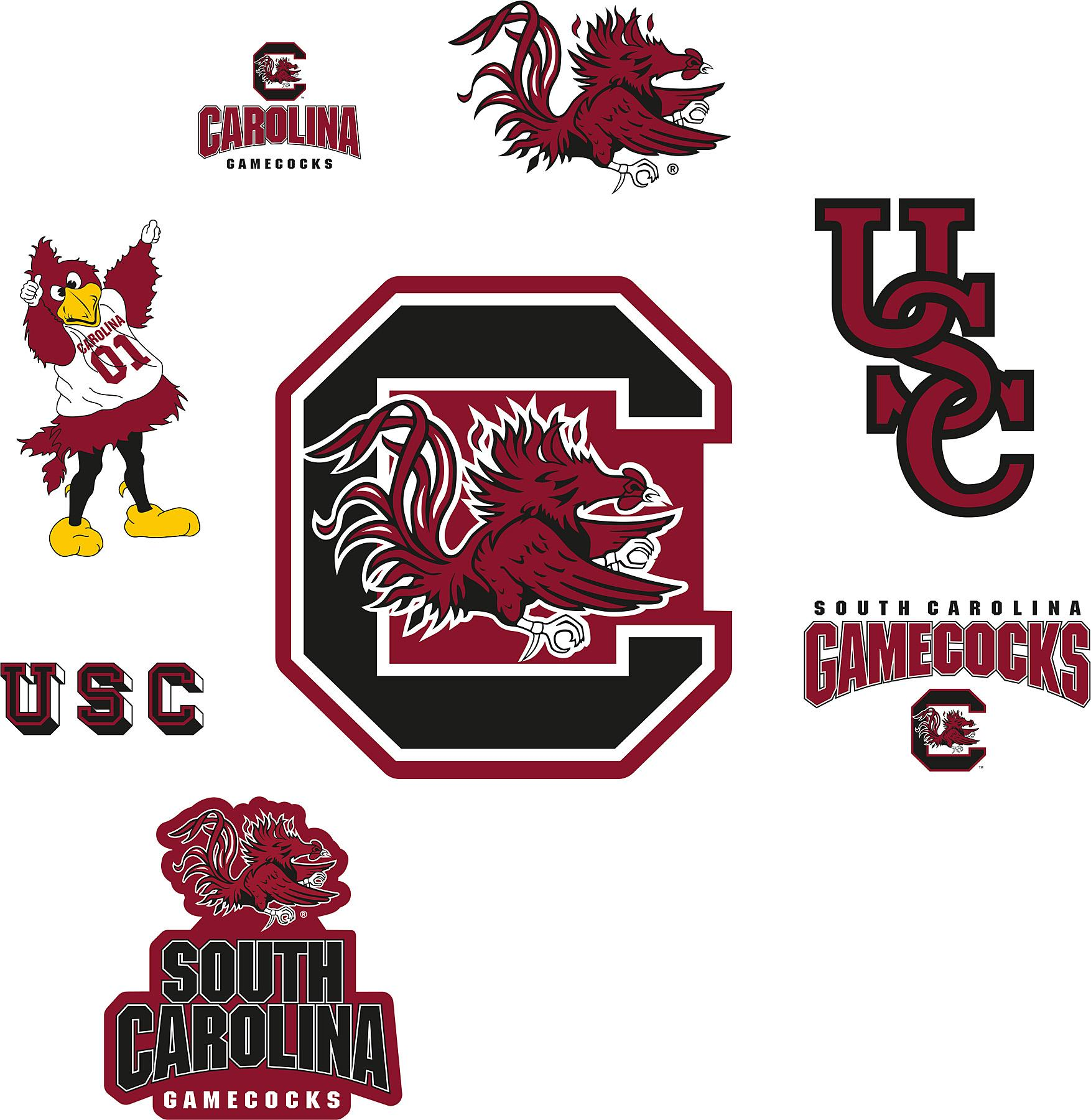 06c92e6fdc271 Brewster Wallcovering South Carolina Gamecocks Logo Fathead Jr Search  Results