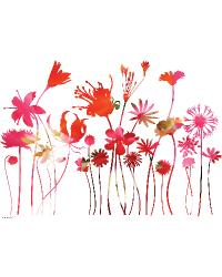 Stemmed Flowers by