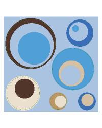 Blue Spheres by