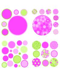 Gone Dotty Pink by