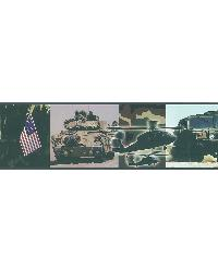 Military Wall Border by