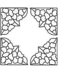 Pansy Corners Clear Stained Glass Applique by
