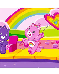 Care Bears Wall Border by